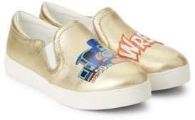 Sam Edelman Charlie Train Wreck Slip-On Sneakers