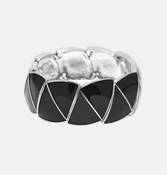 Avenue Epoxy Triangle Stretch Bracelet
