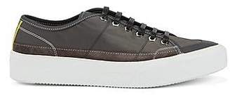 HUGO BOSS Fashion Show Capsule low-top trainers with rubber sole