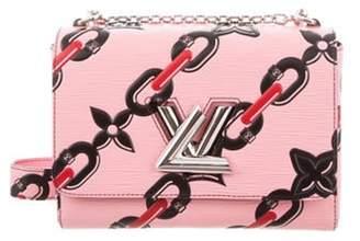 Louis Vuitton 2016 Chain Flower Epi Twist MM Pink 2016 Chain Flower Epi Twist MM