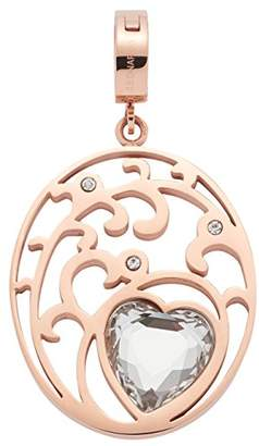 Leonardo Jewels Women pendant Darlin's Amoretto stainless steel glass transparent - 016267