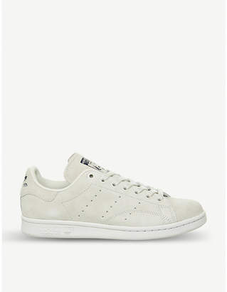 adidas Stan Smith suede trainers
