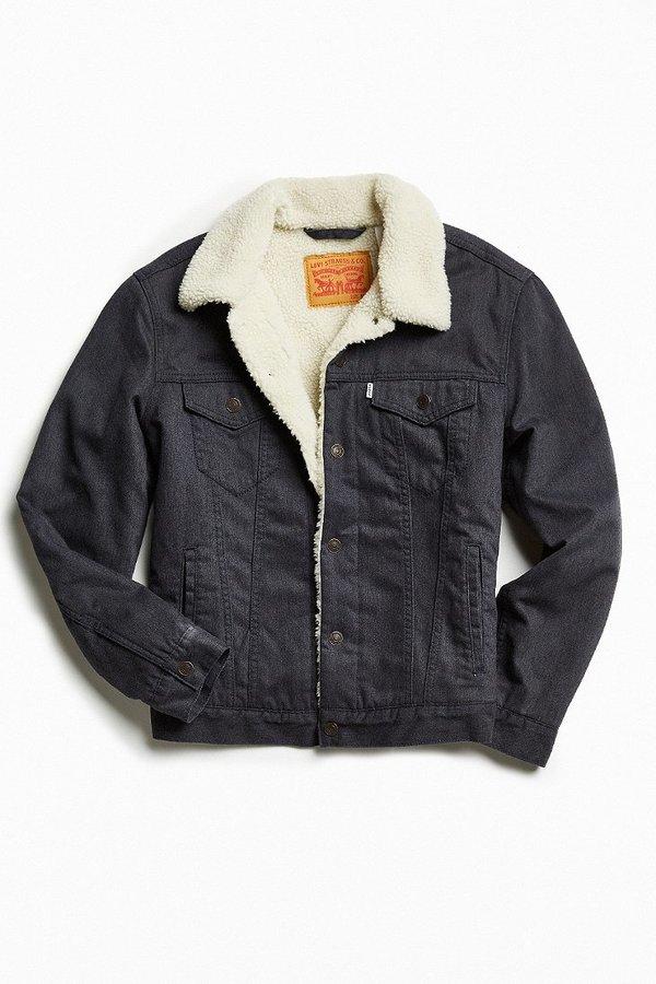 Levi's Levi's Flannel Sherpa Trucker Jacket 6