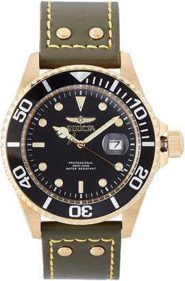 Invicta 22075 Army Green & Gold-Tone Pro Diver Watch