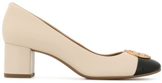Tory Burch Chelsea 50 cap-toe pumps