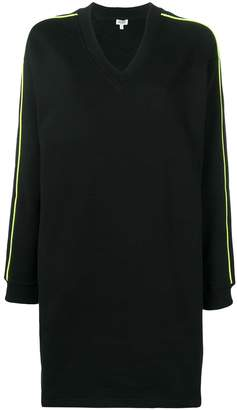Kenzo logo sweater dress