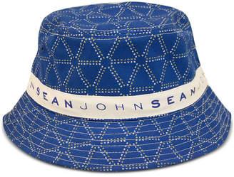 Sean John Men Logo Graphic Bucket Hat