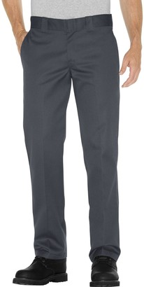 Dickies Men's Slim Straight Fit Twill Work Pants