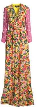 Saloni Ginny Floral Maxi Dress