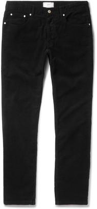 Slim-Fit Stretch-Cotton Corduroy Trousers