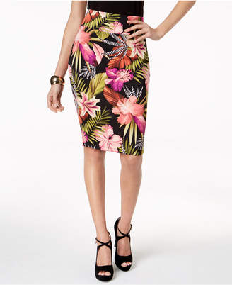 bcfb999e0 ... Thalia Sodi Printed Scuba Pencil Skirt, Created for Macy's