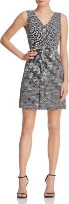 Leota Charlotte Knot Front Dress $148 thestylecure.com
