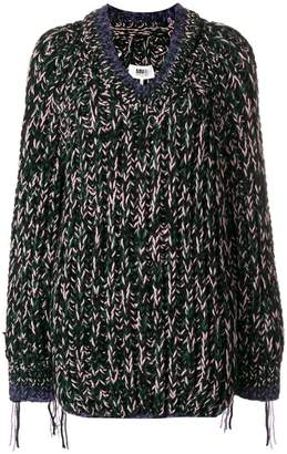 MM6 MAISON MARGIELA oversized chunky-knit jumper