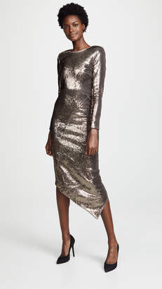 Thurley Stardust Asymmetric dress