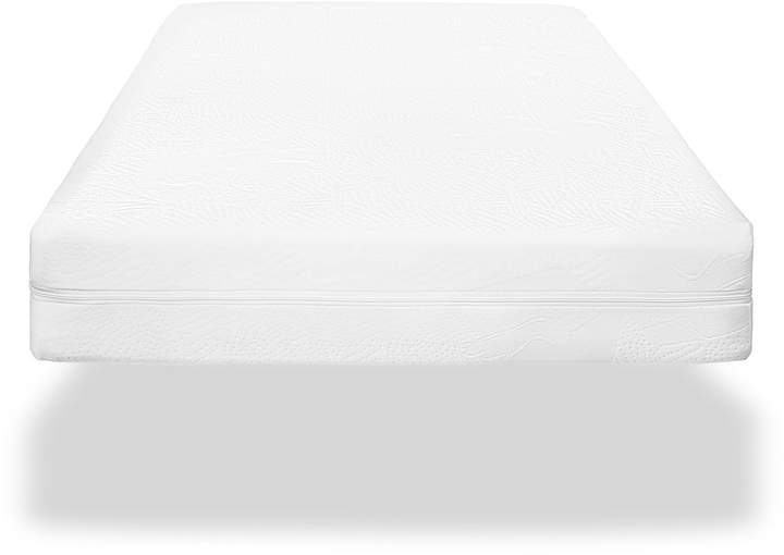 6-Inch Organic Cotton Crib and Toddler Twin Mattress in White