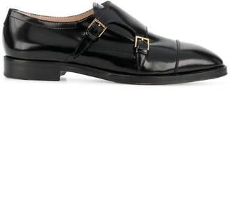 Stuart Weitzman buckled monk shoes