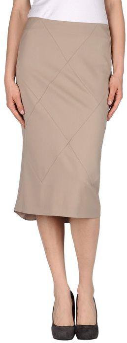 John Galliano 3/4 length skirt