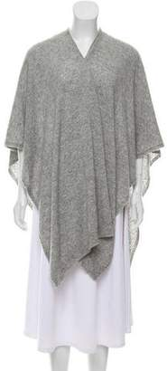 The Row Draped Open Front Poncho