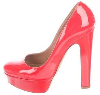 Valentino Patent Leather Platform Pumps
