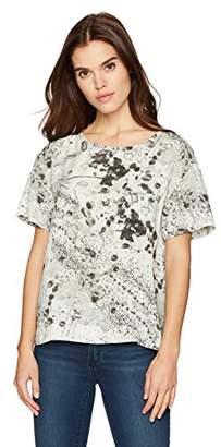 Calvin Klein Jeans Women's Short Sleeve Arctic Splatter T-Shirt