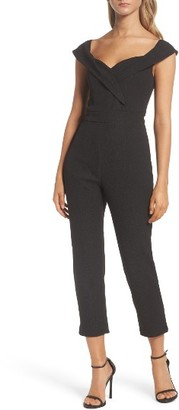 Women's Bardot Bella Crop Jumpsuit $129 thestylecure.com