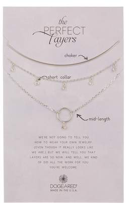 Dogeared Perfect Layers Necklace - Set of 3