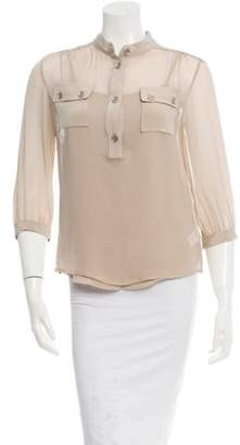 Loeffler Randall Silk Top w/ Tags