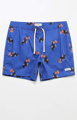 "Modern Amusement Eagles 17"" Swim Trunks"