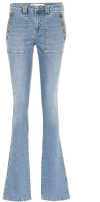 Victoria Victoria Beckham Mid-rise flared jeans