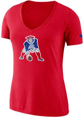Nike Women's New England Patriots Historic Logo T-Shirt