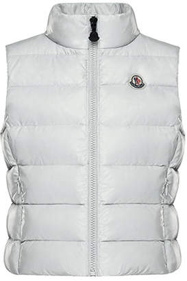 Moncler Ghany Quilted Puffer Vest, Size 8-14