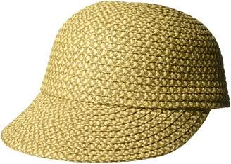 Eric Javits Women's Mondo Cap - Small/Medium - Peanut