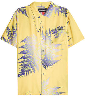 Double Rainbouu Short Sleeved Hawaiian Shirt