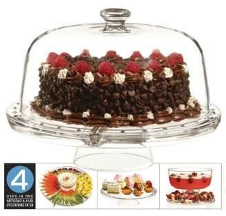 Luigi Bormioli 4 in 1 Cake Plate by