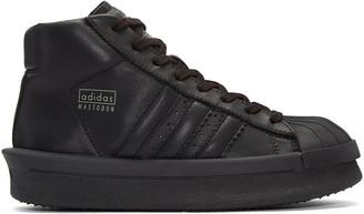 Rick Owens Black adidas Edition Mastodon Sneakers $1,000 thestylecure.com