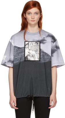 Opening Ceremony Black and White Shinoyama Edition Drawstring T-Shirt