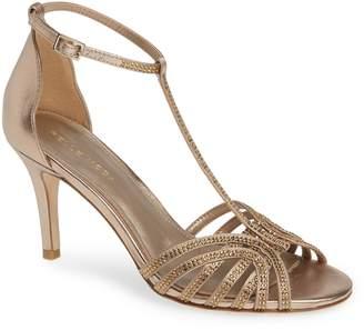Pelle Moda Rochell Crystal Embellished Sandal