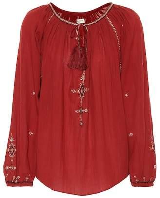 Etoile Isabel Marant Isabel Marant, Étoile Melina embroidered cotton top