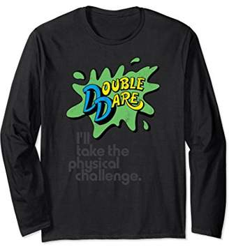 Nickelodeon Double Dare Splat Challenge Long Sleeve T