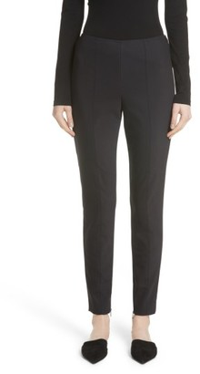 Women's St. John Collection Scuba Bi-Stretch Crop Leggings $495 thestylecure.com