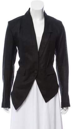 Isabel Benenato Linen Asymmetrical Blazer w/ Tags