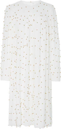 Alena Akhmadullina Pearl Embroidered Dress