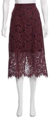Ganni Lace-Midi Skirt w/ Tags