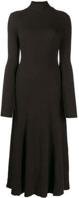 Cavallini Erika ribbed knit midi dress