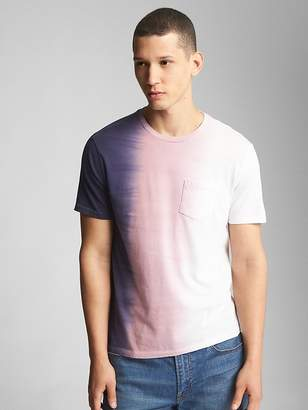Gap Tie-Dye Pocket T-Shirt
