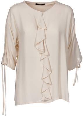 Seventy Ruffled Trim Blouse
