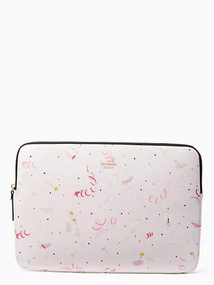 Kate Spade Champagne print universal laptop sleeve
