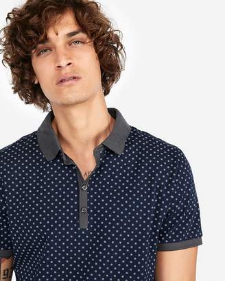 Express Print Performance Polo