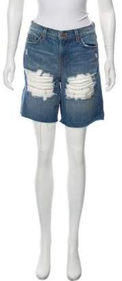 J Brand Denim Distressed Shorts