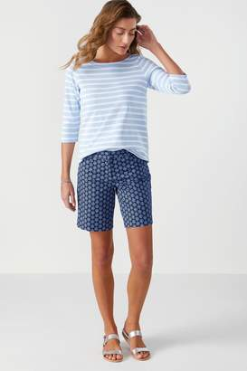Womens Pure Collection Blue City Shorts - Blue